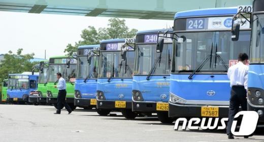 [사진]서울시 버스노조 '총파업 예고'