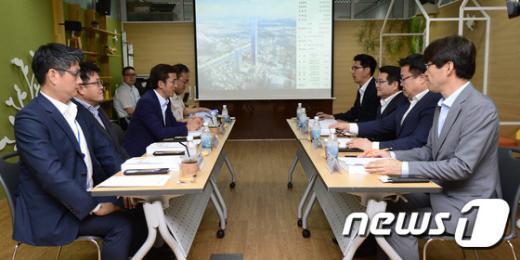 [사진]서울시-현대차 한전부지 개발 사전협상 시작