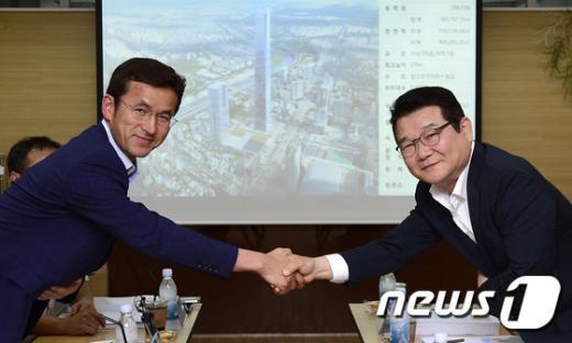 [사진]서울시·현대차, 한전부지 개발 사전협상 돌입