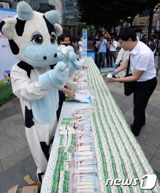 [사진]'우리 우유 소비합시다'