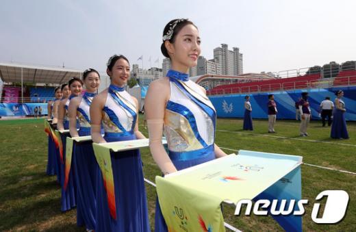 [사진]오늘 2015 광주U대회 개막