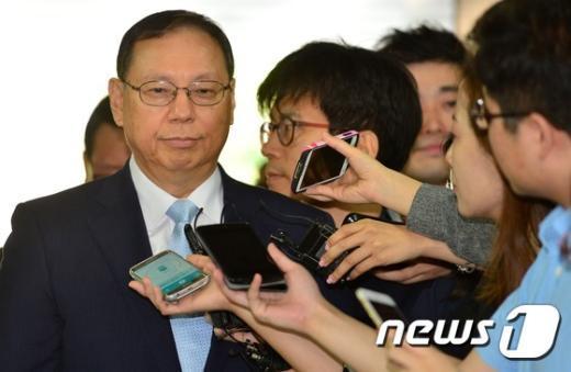[사진]'조성진 LG 전자 사장의 입장은?'
