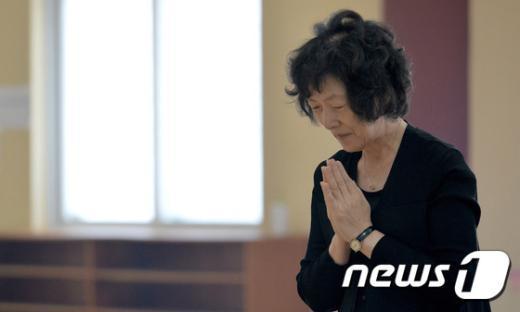 [사진]'어머니의 기도'