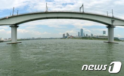 [사진]'녹조 한강'