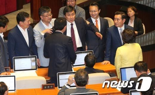 [사진]야당의 호소