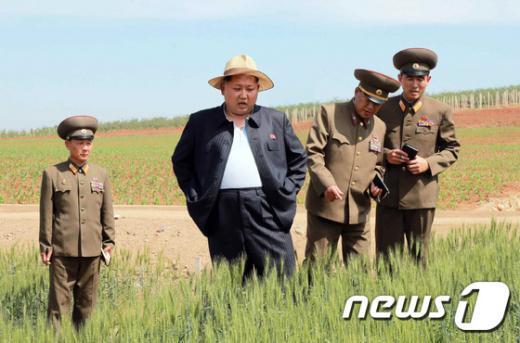 김정은 북한 노동당 제1비서. (노동신문) 2015.6.1/뉴스1 © News1 조희연 기자