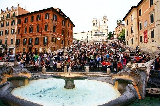 로마 스페인 광장 /사진제공=내일투어