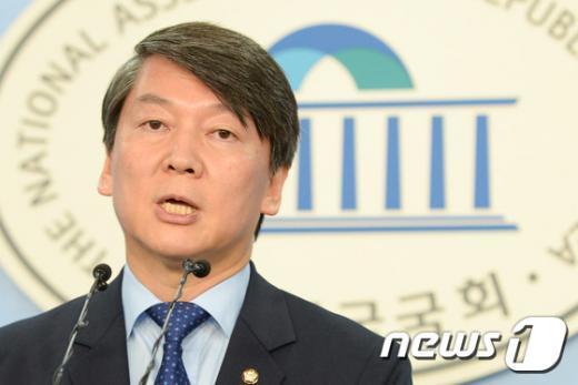 새정치민주연합 안철수 전 공동대표. 2015.6.25/뉴스1 © News1 허경 기자