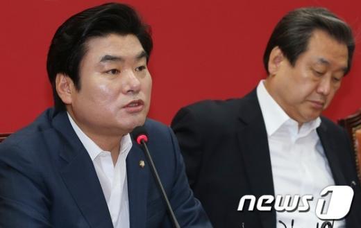 [사진]원유철, 최고위원회의 모두발언