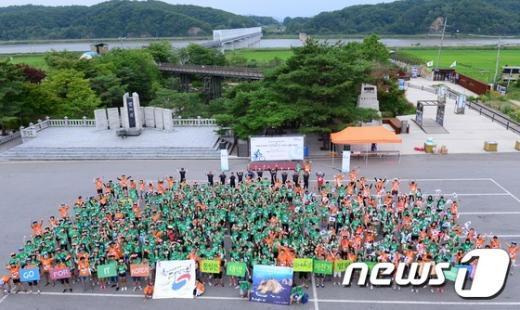 [사진]통일염원 DMZ 자전거 평화대행진