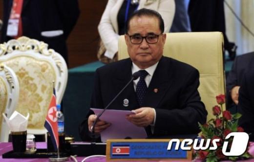 리수용 북한 외무상. © AFP=뉴스1 /뉴스1 © News1