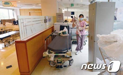 [사진]부분폐쇄 해제된 삼성서울병원