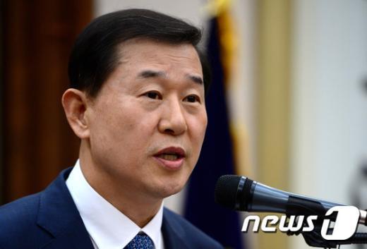 국가인권위원회 위원장으로 내정된 이성호(57·사법연수원 12기) 서울중앙지법원장. © News1 박정호 기자