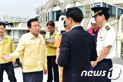 [사진]'안정장비 점검 철저하게'