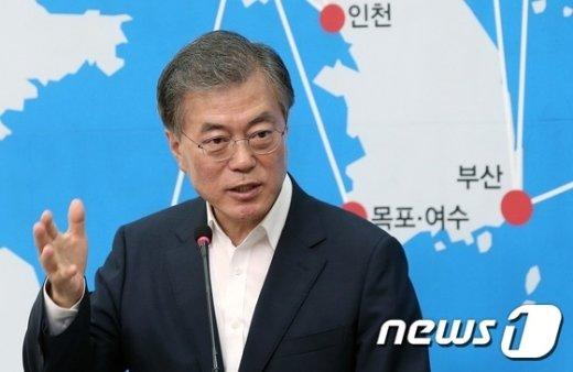 문재인 새정치민주연합  대표. 2015.8.16/뉴스1 © News1
