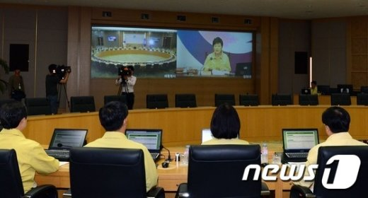 [사진]영상 을지국무회의
