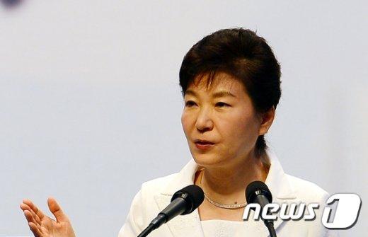 박근혜 대통령. 2015.8.15/뉴스1 © News1