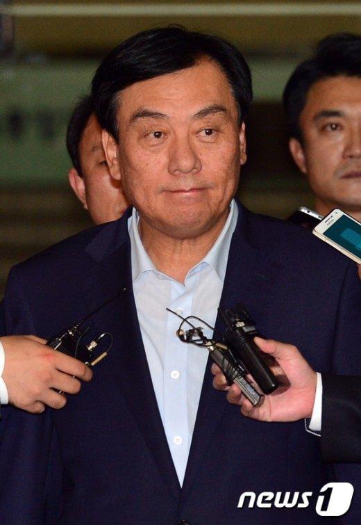 [사진]굳게 입다문 박기춘 의원