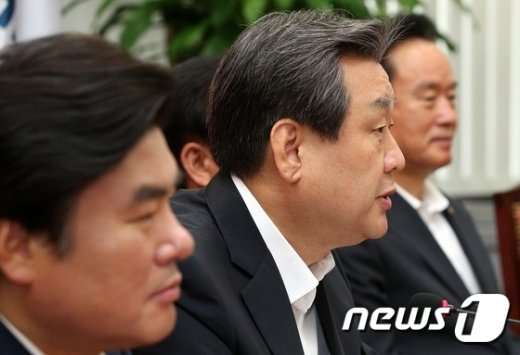 """[사진]김무성 """"노동개혁 동참, 국민의 명령"""""""