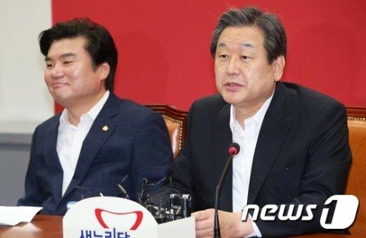[사진]김무성, 최고중진연석회의 모두발언