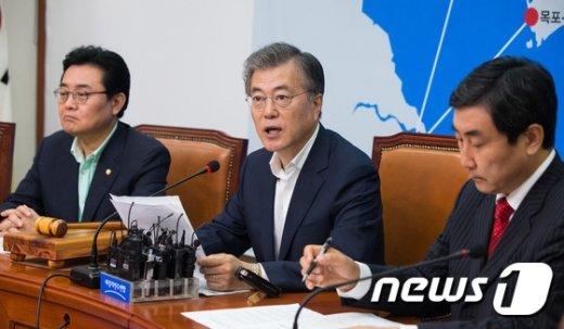 문재인  새정치민주연합  대표. 2015.8.17/뉴스1 © News1