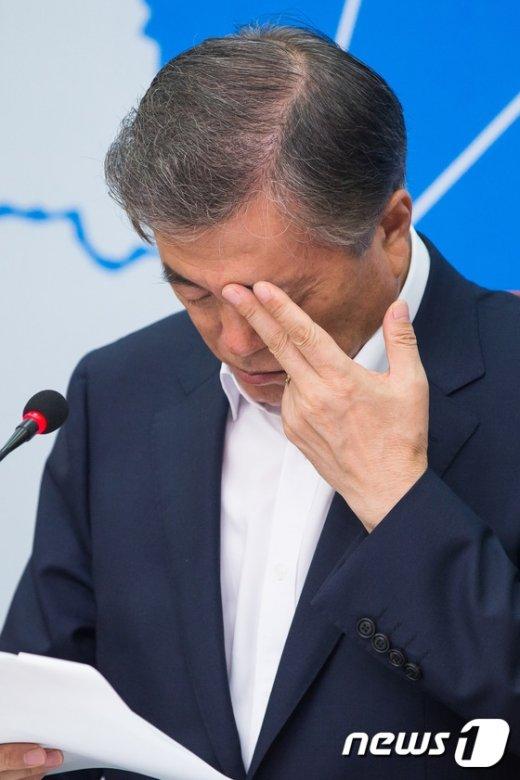 [사진]문재인의 고민은?