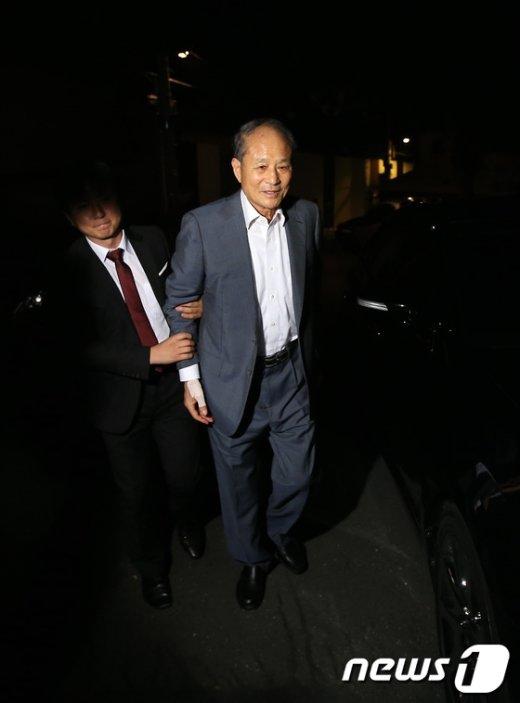 이상득 전 새누리당 의원. 뉴스1 © News1