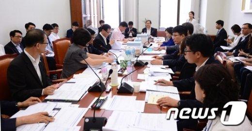 [사진]보건복지위원회 예산결산심사소위원회