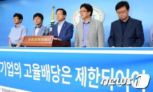 [사진]발언하는 김기준 의원