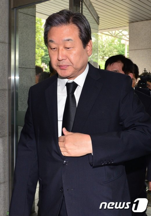 [사진]故 이맹희 명예회장 빈소 찾은 김무성 새누리당 대표