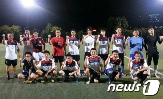 '마포스포츠클럽' 축구단(제공:마포구) © News1