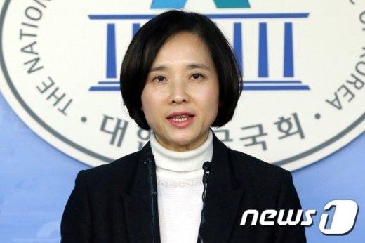 새정치민주연합  유은혜 대변인. .2015.2.9/뉴스1 © News1