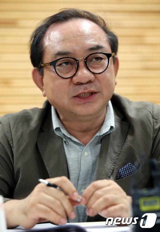 [사진]한예종 김봉렬 총장 '교육기반 내실화 강조'