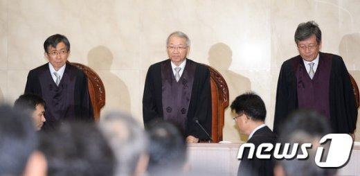[사진]'한명숙 정치자금 수수 혐의' 대법원의 판결은?