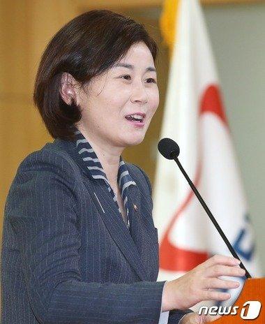 김희정 여성가족부 장관.  © News1