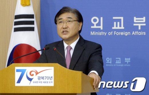 노광일 외교부 대변인. 뉴스1 / (서울=뉴스1) 안은나 기자 © News1