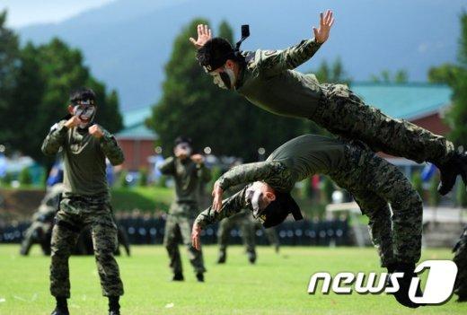 [사진]특전용사들의 용맹