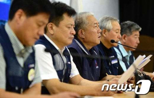 """[사진]김동만 위원장 """"노사정 협상 재개"""""""