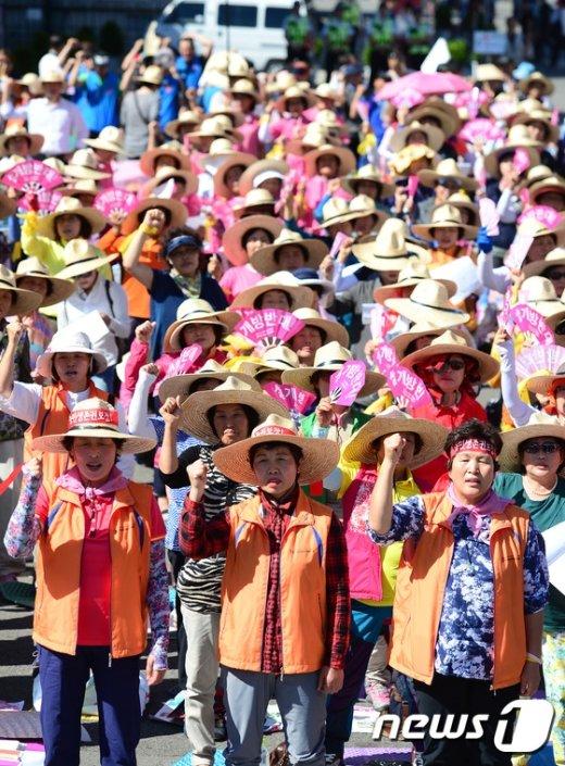 [사진]여성농민들의 외침