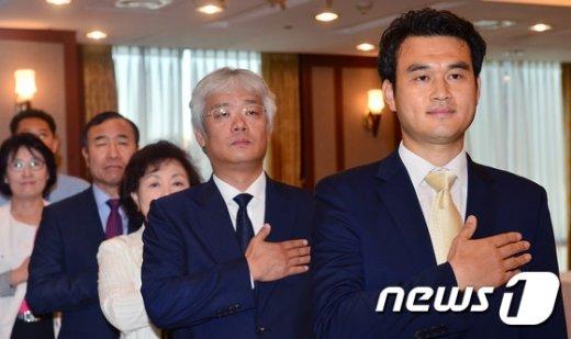 [사진]감사나눔운동 업무협약식 찾은 이재수 대표이사