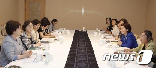 [사진]공공기관 여성 관리자 간담회