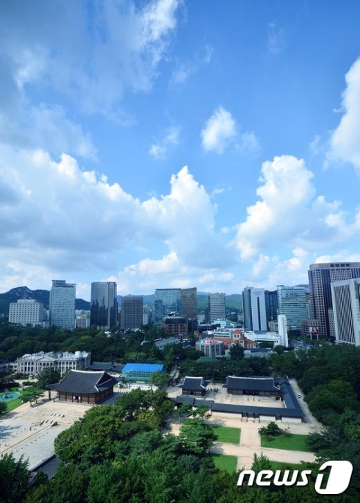 [사진]푸른 서울 하늘