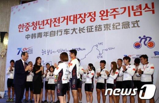 [사진]'완주 박수'