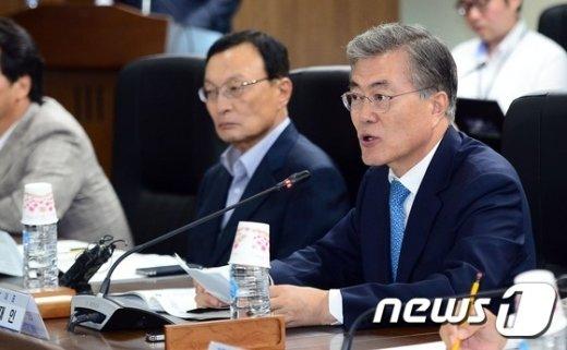 [사진]새정치민주연합-세종시 예산정책협의회 인사말