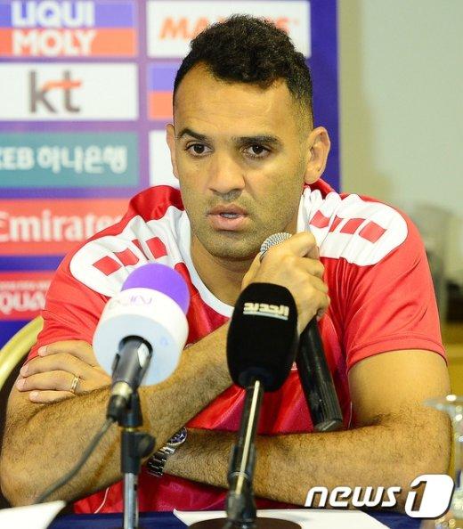[사진]레바논 주장 로다 안타르 '레바논 축구 홈에서 강하다'