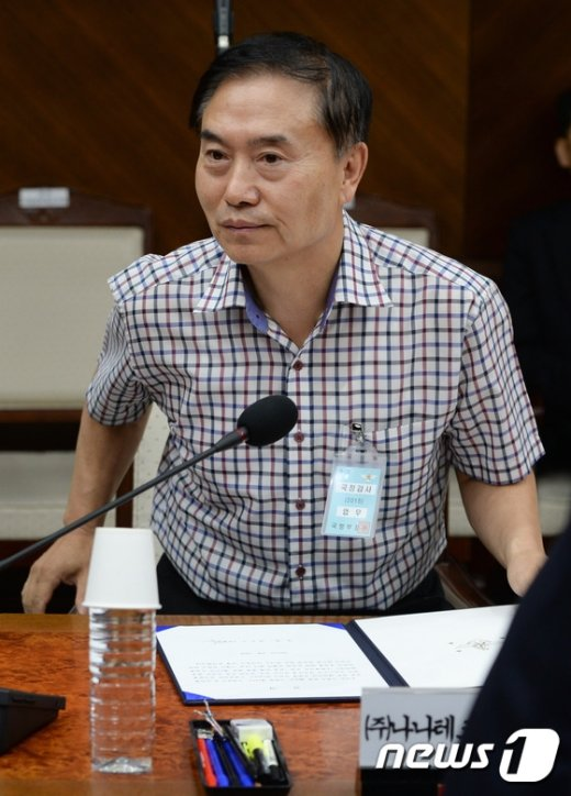 [사진]국방위, '해킹 의혹' 관련 나나테크 대표 출석