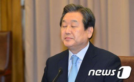 새누리당 김무성 대표./뉴스1 © News1 사진공동취재단