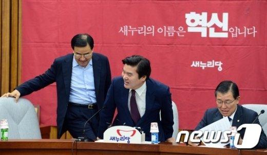 [사진]새누리당 국정감사 대책회의