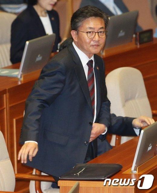 홍용표 통일부장관. © News1 오대일 기자