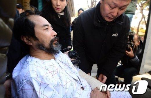 우리마당독도지킴이 대표 김기종(55)씨. /뉴스1 © News1 양동욱 기자